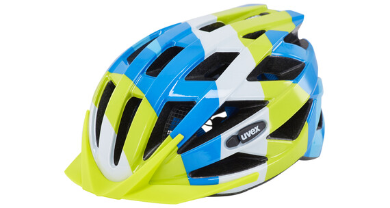 UVEX air wing Helmet Junior blue-green